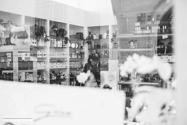 Parfumes shop in Arcevia, Italy
