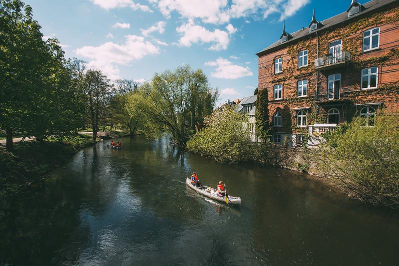 River in Odense